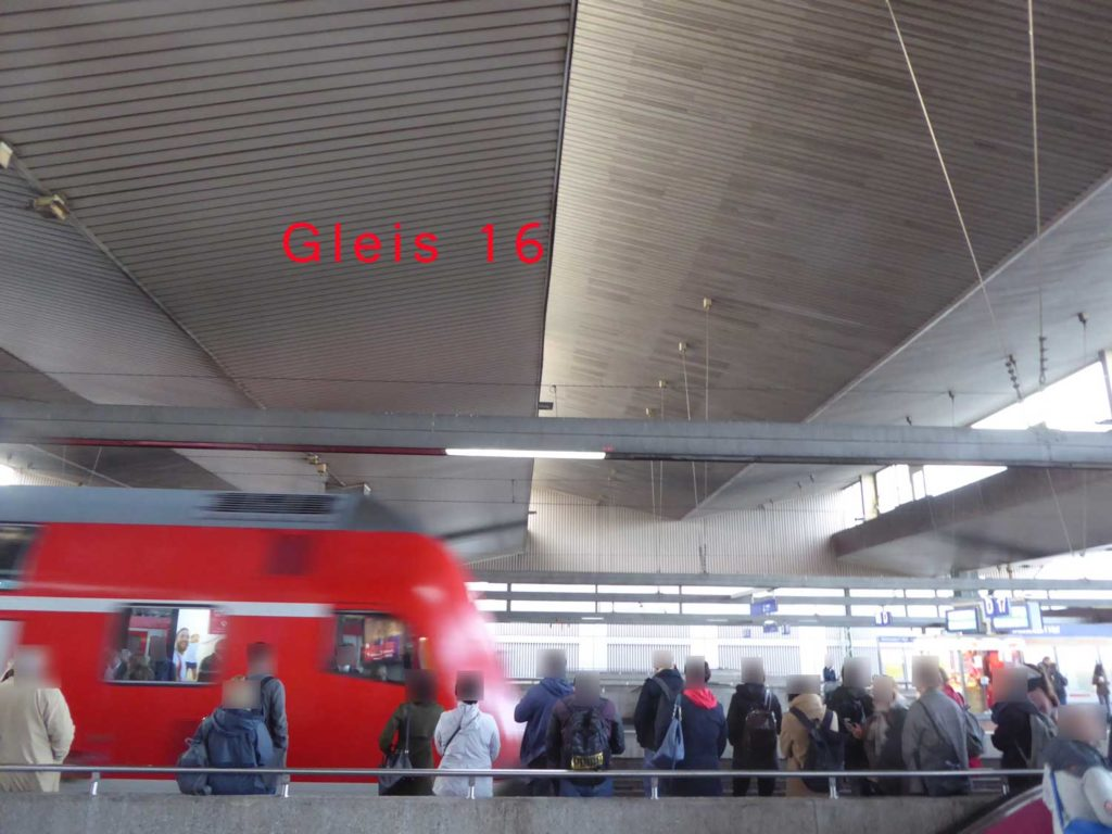 Hauptbahnhof Gleis 16